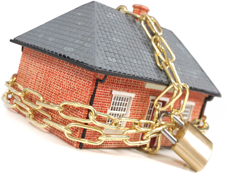 Casas reposeídas por bancos