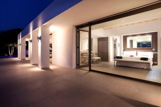 Moderna residencia con vista al mar Exteriores