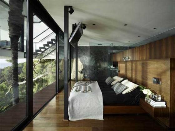 Impresionante casa en la costa brava dormitorios