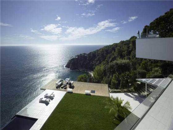 Impresionante casa en la costa brava terrazas