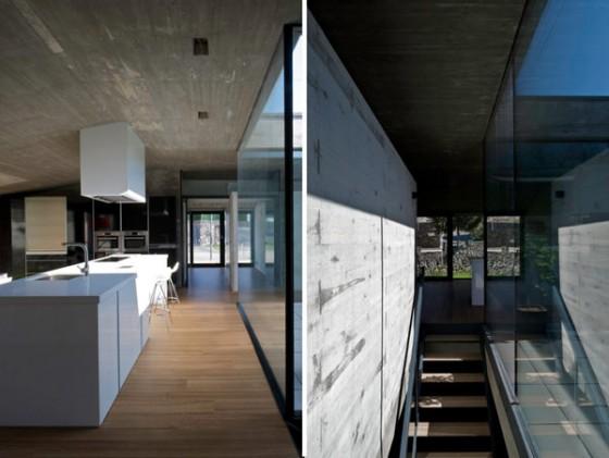 Interiores casa Pocafarina, casa en Girona, España