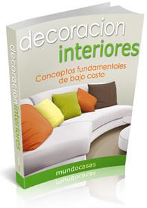 Libro decoracion de interiores, conceptos fundamentales de bajo costo