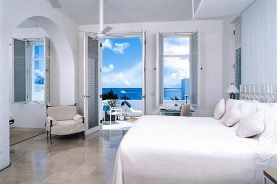 Villa sofisticada en Anguilla con vistas al Caribe Dormitorios, vistas