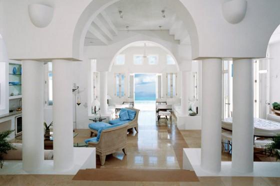 Villa sofisticada en Anguilla con vistas al Caribe Interiores