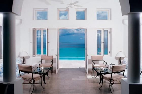 Villa sofisticada en Anguilla con vistas al Caribe Interiores, vistas