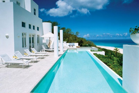 Villa sofisticada en Anguilla con vistas al Caribe Piscina