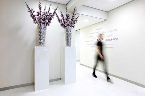 YOUD centro de belleza conceptual Pasillos